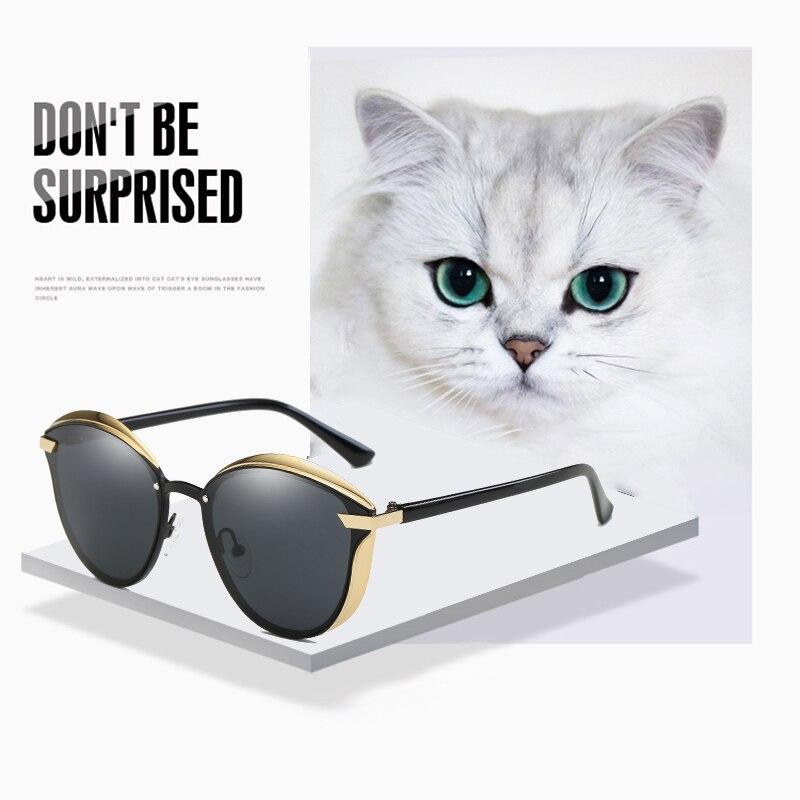 Ladies Sunglasses Women Cat Eye Luxury Brand Design Sunglasses Women Polarized Vintage UV400 High Quality oculos de sol feminino