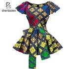 African blouse Women...