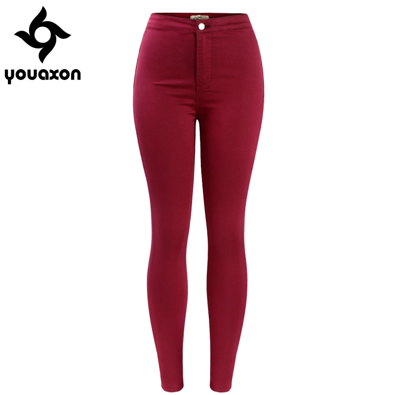 Popular Red Denim Skinny Jeans-Buy Cheap Red Denim Skinny Jeans