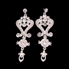 Wedding accessories, bridal earrings, banquets, wedding dress accessories, fashion jewelry accessories wholesale,CHH230