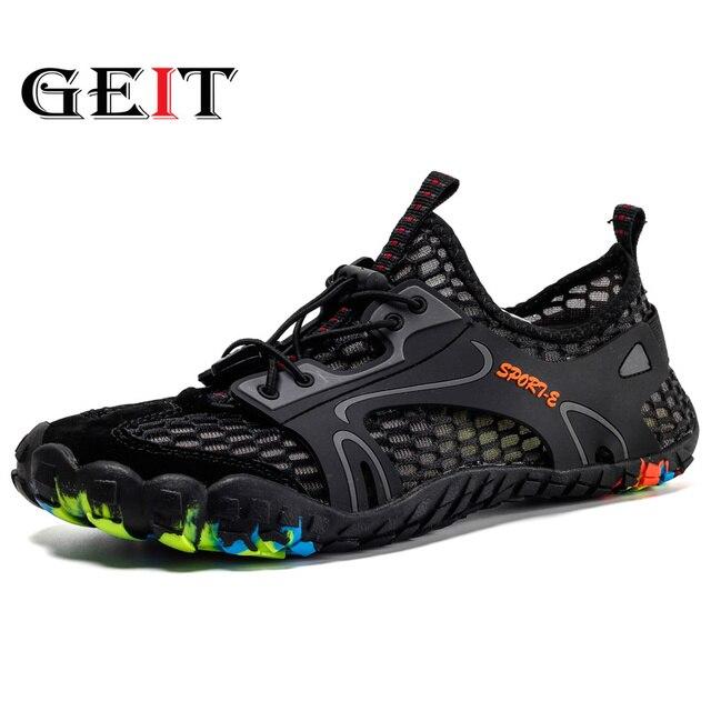 Descuentos Zapatos Hombre de senderismo para impermeables