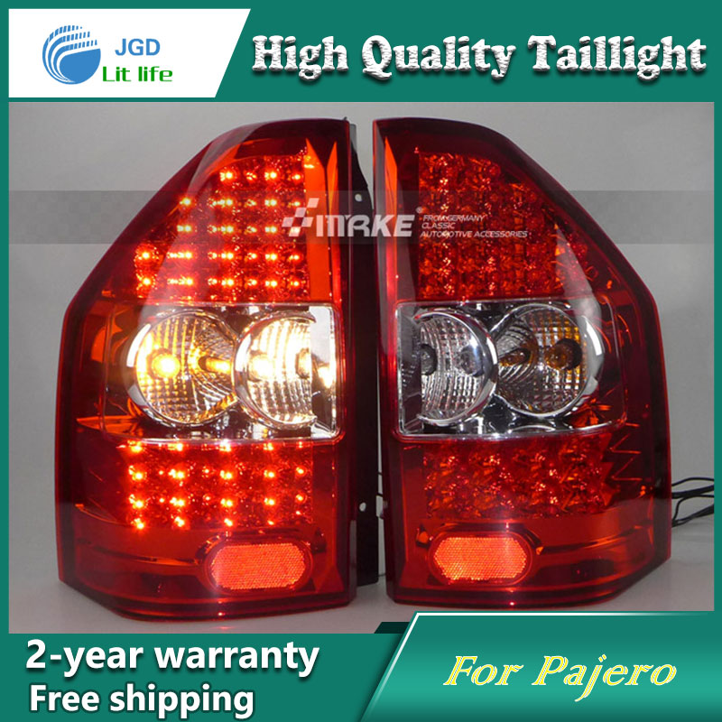 Car Styling Tail Lamp for Mitsubishi Pajero V73 2003-08 Tail Lights LED Tail Light Rear Lamp LED DRL+Brake+Park+Signal Stop Lamp car styling tail lamp for mitsubishi pajero v73 2003 08 tail lights led tail light rear lamp led drl brake park signal stop lamp