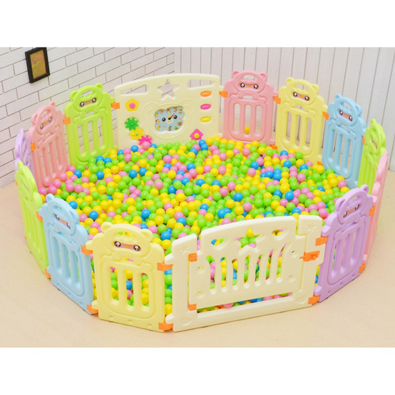 Baby Safety Fence Play Yard Barrier Fencing for Children Indoor Baby Fence Game Ball Pool Playpens Kids Play Fence Playpen