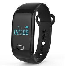 Pulso Heartbeat Monitor inteligente A10 pulsera Bluetooth rastreador de Fitness deportes pulsera para el iPhone IOS Android Huawei teléfono