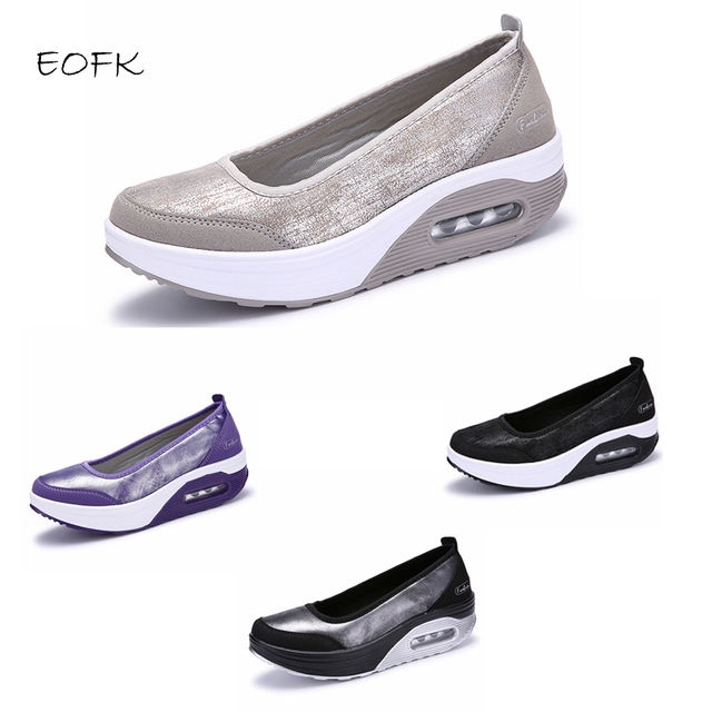 Women Flat Platform Shoes Woman Loafers Casual Women's Slip On Shallow Swing Moccasin Ballet Female Flats zapatos de mujer