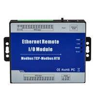 LAN Ethernet Data Acquisition Module 4 RTD Inputs Supports PT100 or PT1000 Resistance Sensor compatible 2 or 3 wires M240T