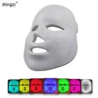 Red Blue Green LED Light Facial Mask Led Skin Rejuvenation Facial Mask