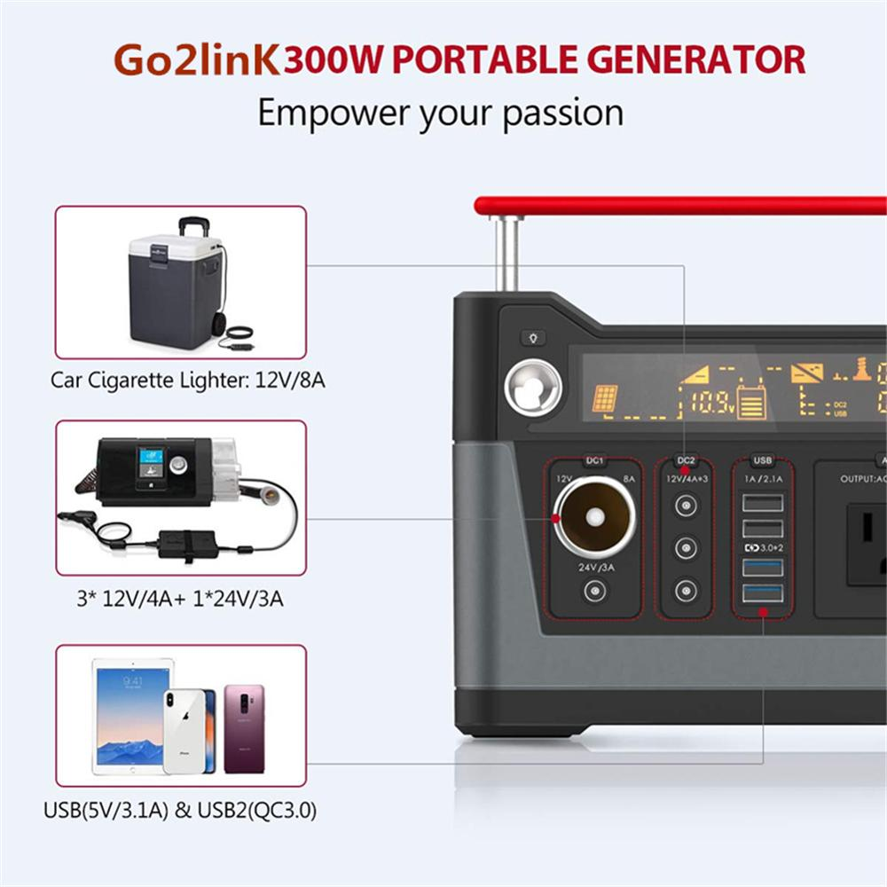 280Wh Station Camping discount