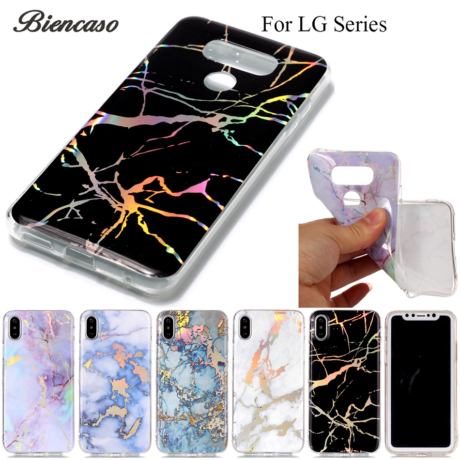 Marble Phone Cases for iPhone 7 Case For LG G6 H870M K10 2017 M250N M250K X400 K20 Plus LV5 Coque IMD TPU Back Covers Funda B02