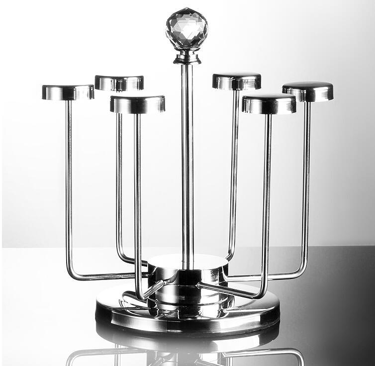 Verre suspendus cadre en verre bière boisson titulaire la tasse à recevoir un creative cadre en verre