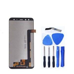 Image 2 - 5.7 pouces affichage dorigine pour BlackView S8 LCD + écran tactile numériseur composants pour blackView s8 LCD pièces de réparation décran
