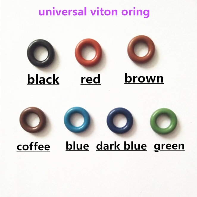 7.8*3.6 mm 100 pcs For Renault and Peugeot Fuel Injector Viton O ring Size