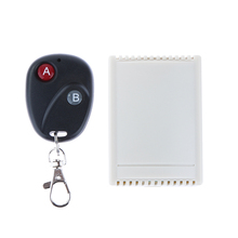 Universal Upgraded DC12V Learning Remote Control Switch 433MHz Learning Code Receiver Momentary Switch Wireless Remote