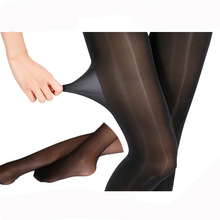 30D New Super Elastic Magical Tights Stockings Skinny Legs Collant Sexy Pantyhose Prevent Hook Nylons Medias