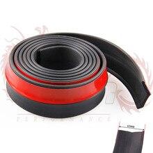 Полосы/экстерьера губа спойлер чин органа универсальные бамперы бампера splitter передняя резиновые