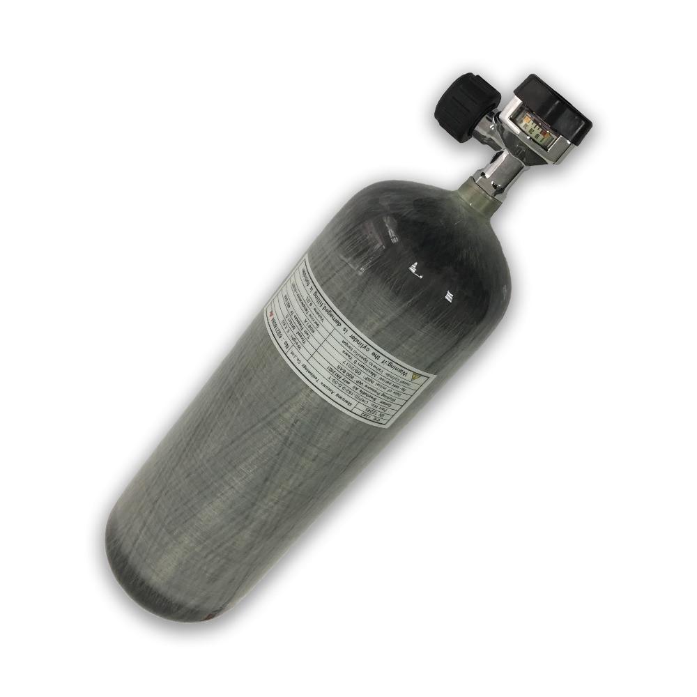 AC10921 9L High Pressure Cylinder Airforce Condor Bottle Air Gun Paintball 4500psi Tank 300bar Scuba Fire Protection Diving 2019