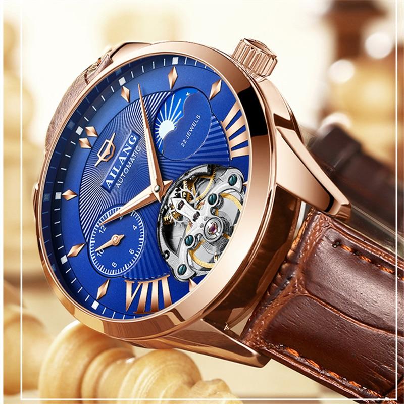 Herrenuhren ZuverläSsig Ailang Männer Uhren Top-marke Luxus Automatische Uhr Männer Tourbillon Uhren Mode Casual Business Armbanduhr Uhr Mann Geschenk