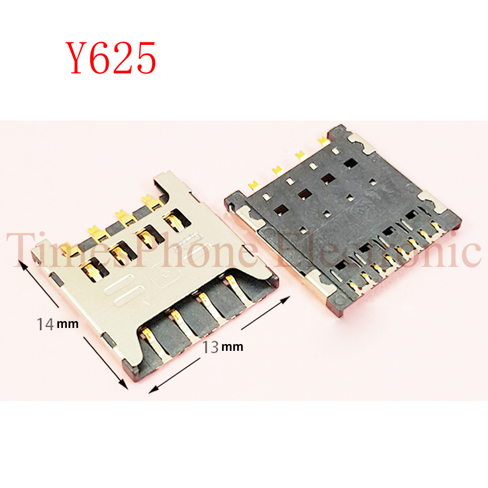 4pcs New Sim Card Reader Holder Slot Tray connector port For Huawei Y625 Y625-U32 Honor 3C HOL t00 U00 T10 U10