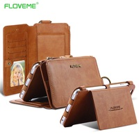 FLOVEME Brand Retro Leather Phone Case For IPhone 5C SE IPod Touch 5 5s Apple Touch