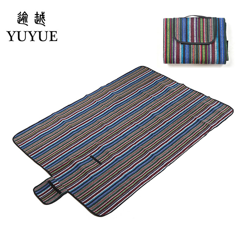 150*200cm  beach mat for tourist camping tent fishing picnic camping mat high quality folk style picnic mat camping equipment 5