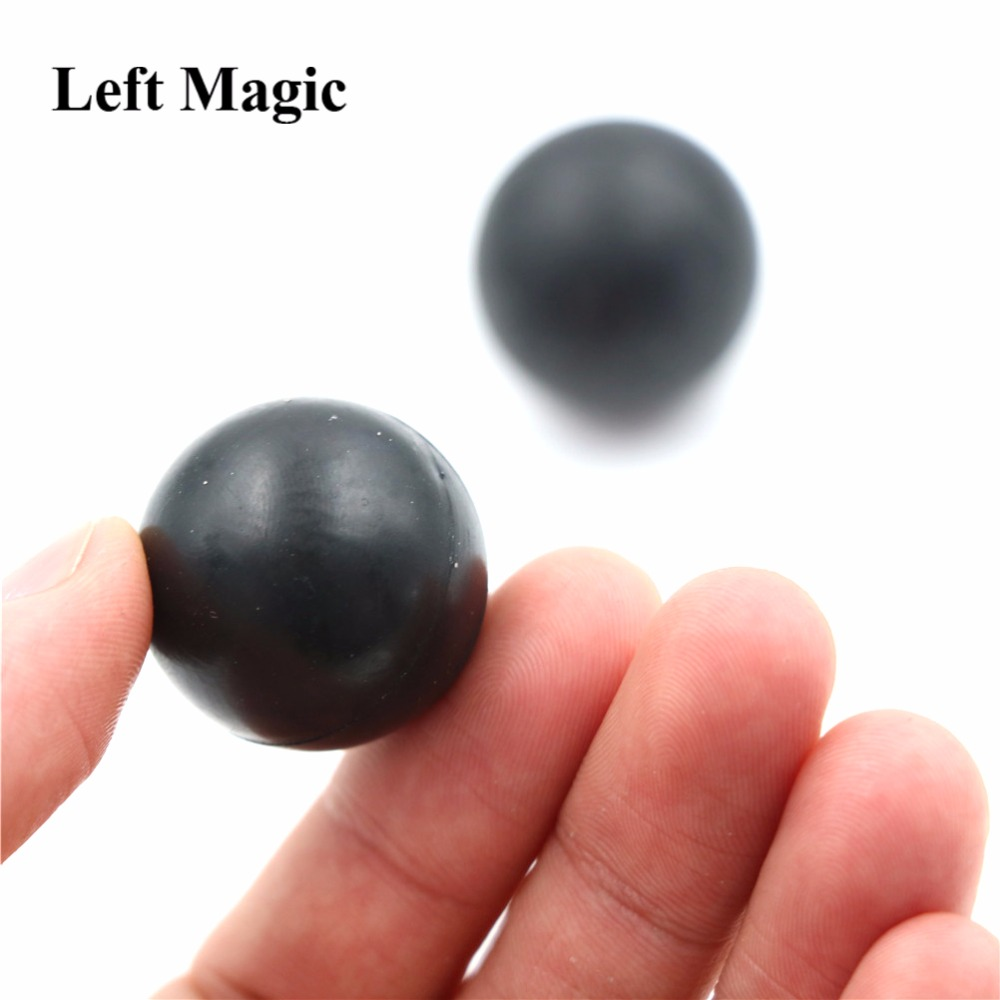 1sets Mental Power Test Ball Bounce No Bounce Ball Close Up Magic Trick Mentalism Props Comedy Joke Fun Magia Classic Toy E3122