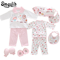 18pcs Set Newborn Baby Girl Clothes 100 Cotton Underwear Suits Infant Clothing Baby Boy Sets Unisex