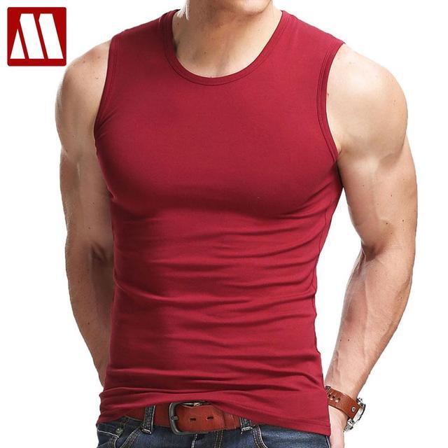 Hot Sleeveless Fitness Shirt For Men