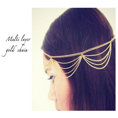 HTB1Kh_0KXXXXXbDXXXXq6xXFXXXX Bohemian Metal Gold Color Head Chain Hair Jewelry For Women - 8 Styles