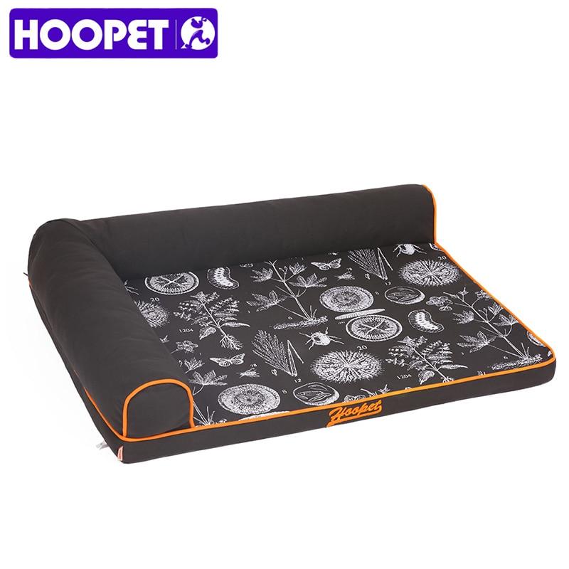 HOOPET Съемный Мягкий щенок Большой Собака Кошка Кровать диване дома дом гнездо Подушки Одеяло Коврики корзина