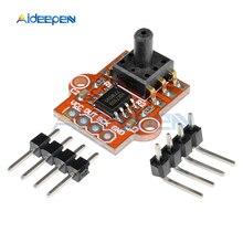 3,3-5 в цифровой атмосферный датчик давления модуль регулятор уровня жидкости воды плата 0-40KPa подключение 2,5 мм Мягкая трубка для Arduino