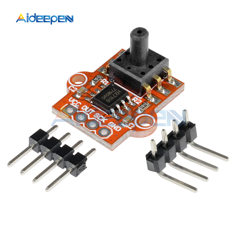 3.3-5V Digital Barometric Pressure Sensor Module Liquid Water Level Controller Board 0-40KPa Connect 2.5mm Soft Tube For Arduino