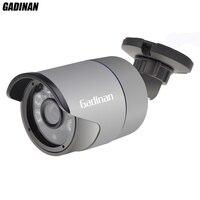 Gadinan full hd ahd 3mp 4mp camera 6 array ir LED Nachtzicht Bullet Metalen Outdoor Waterdichte Surveillance AHD CCTV beveiliging