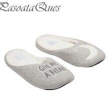 Новые хлопковые домашние тапочки женская домашняя обувь для девочек дамы спальни тапочки для взрослых гостей теплые зимние тапочки с мягкой подошвой