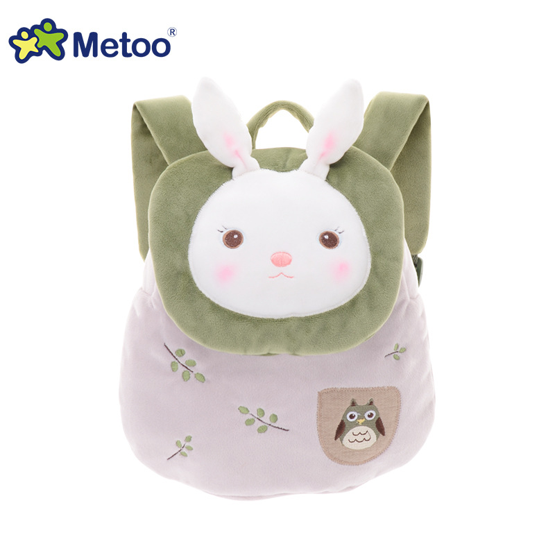 Tiramitu Plush Bags Rabbit Kawaii Backpack Toy for Children Shoulder Bag for Kindergarten Girl Metoo Backpack Doll Kids Toys 50cm cute plush toy kawaii plush rabbit baby toy baby pillow rabbit doll soft children sleeping doll best children birthday gift