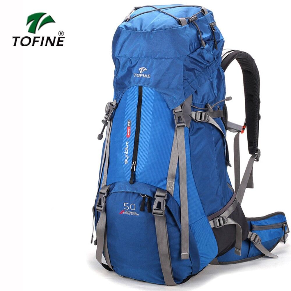 TOFINE sac à dos extérieur grande capacité unisexe voyage multi-fonctionnel escalade sac à dos randonnée Camping sacs à dos 60L Camping sac