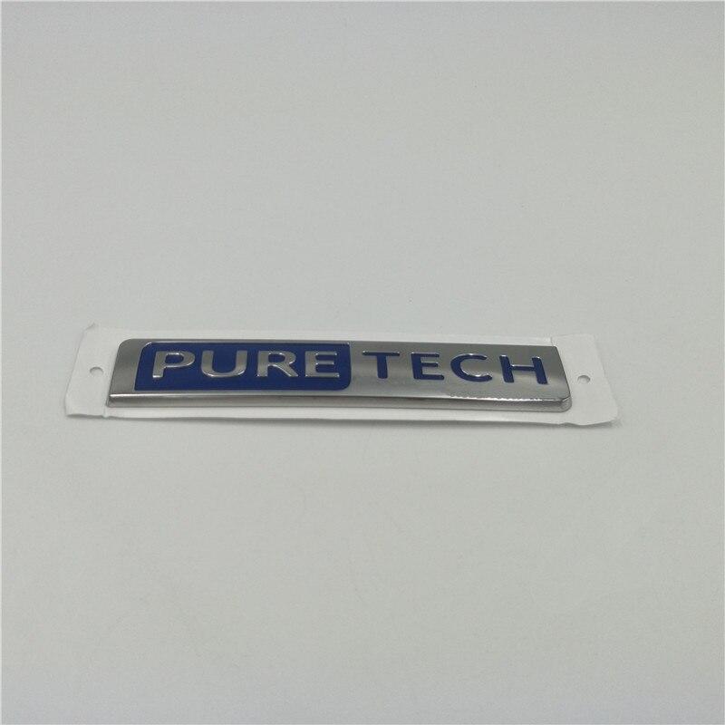 Для Peugeot 3008 5008 GT 17-18 PURETECH эмблема, боковое крыло, стикер, чистый TECH, значок, украшение логотипа
