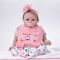 Fashion Doll Reborn Silicoen with Doll Shoes Dolls Bebe Reborn Doll Playing Toys SB5526 Birthday Gifts for Children Tsum Tsum