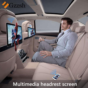 USB Headrest Display Multimedia HD Android-7.0/6.0 Ultra-Thin WIFI TF IPS Quad-Core 1920--1080