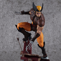 24CM 1/6 Scale Anime Wolverine Avengers Movie Action Figure PVC Collection model Toy