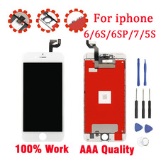 Original YSDING LCD Display Screen For iPhone 6 6S 6S Plus 6SP 7 LCD 100% Tested 5S AAA Quality Assembly Touch Screen Digitizer