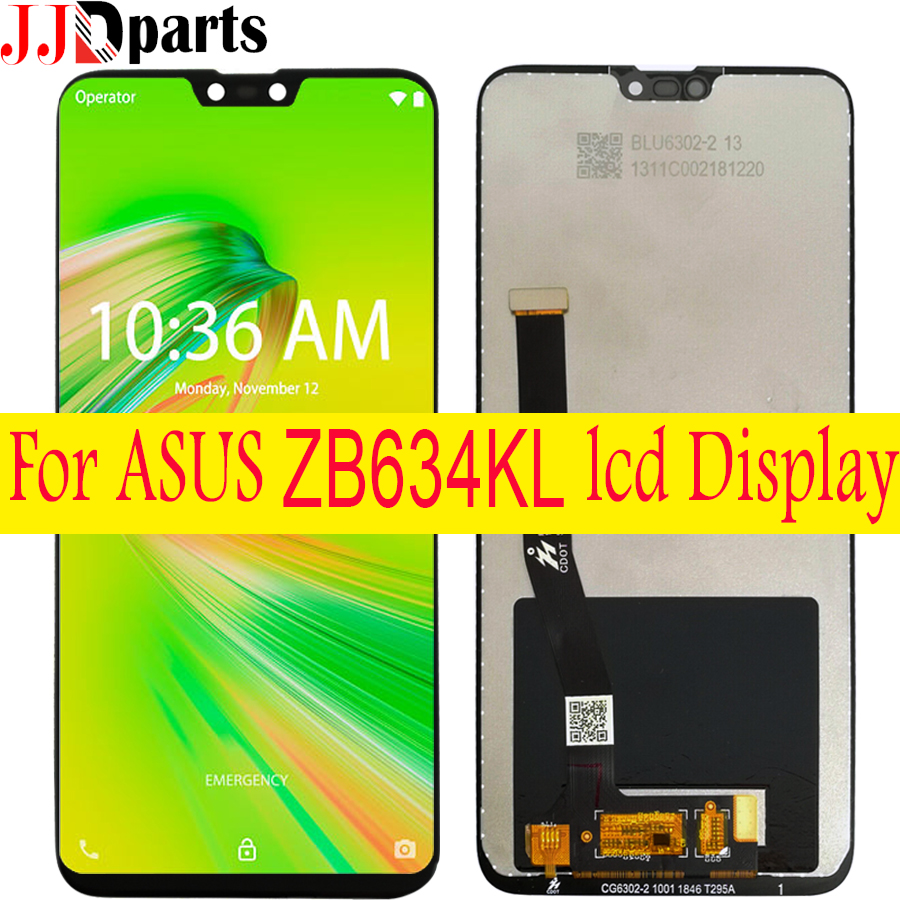 6.26100% new lcd ForASUS Zenfone Max shot ZB634KL LCD Display touch screen digitizer Assembly replacement for ASUS ZB634KL lcd-in Mobile Phone LCD Screens from Cellphones & Telecommunications on
