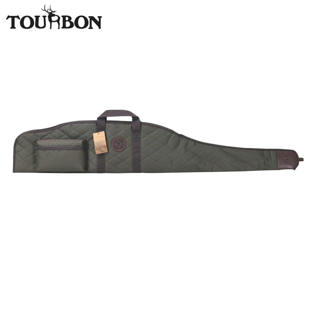 Tourbon Hunting Tactical Gun Case Rifle Scope Sight Cover Carrier Shooting Gun Slip Bag 132CM Gun Accessory tourbon hunting tactical gun case rifle scope sight cover carrier shooting gun slip bag 132cm gun accessory