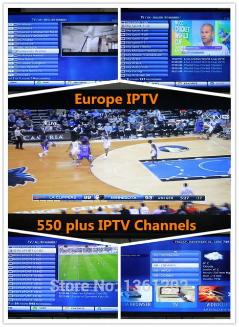 For Mag250, Android box, XBMC, Free test 1 year Euro IPTV / Europe IPTV Arabic/ French/ UK/ Greece/ Russina 500 plus Channels