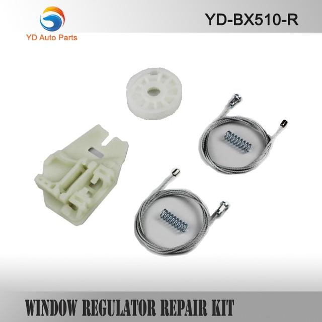 YD WINDOW REGULATOR REPAIR CLIP KIT CAR PARTS FOR BMW X5 WINDOW REGULATOR REPAIR KIT REAR-RIGHT NEW SIX PIECES