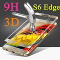 S6 Edge 9H 3D Full Cover Tempered Glass For Samsung Galaxy S6 Edge G9250 Toughened LCD Explosion Proof Screen Protector Coverage