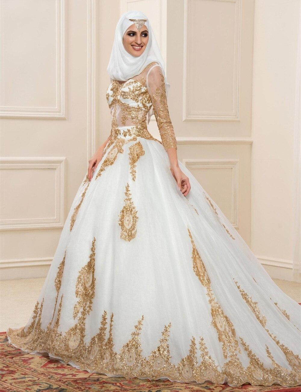Robe de mariage religieux musulman for Robes hautes pour les mariages