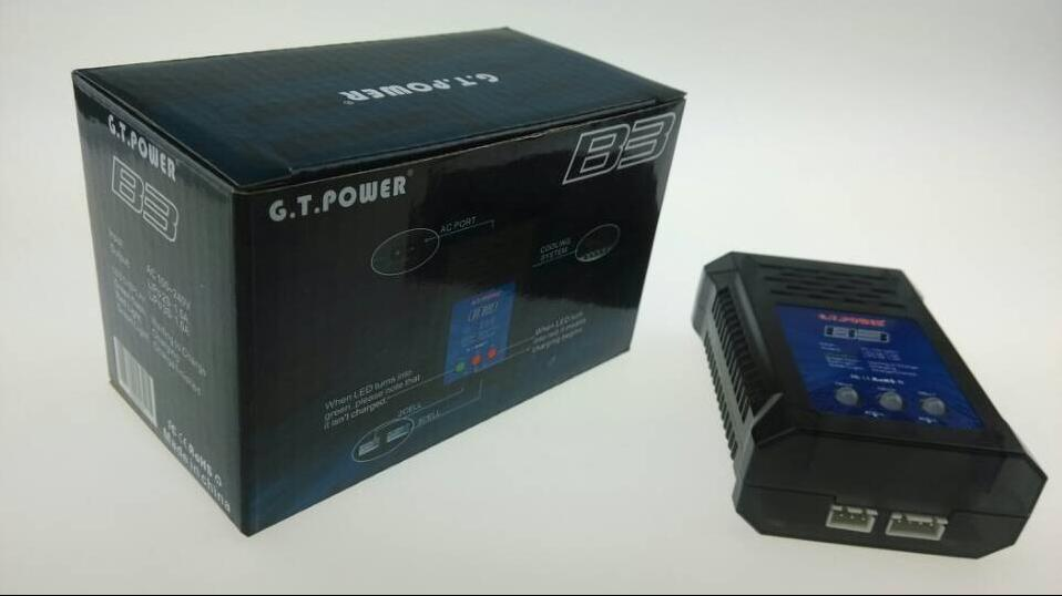G.T.Power B3 AC Charger for 2s 3s LiPo Battery with LED Display F11828