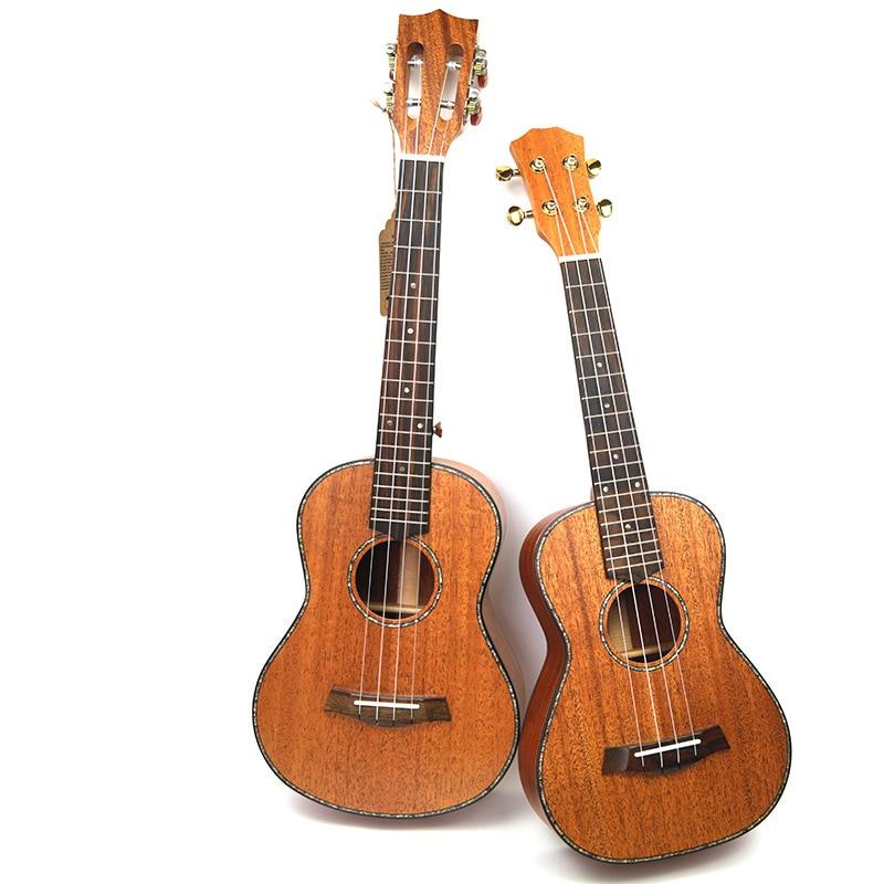 Afanti  Music 23 inch small Guitar / Mahogany / 23 inch Ukulele (DGA-139)
