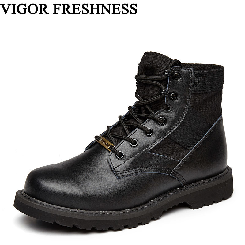 VIGOR FRESHNESS brand Women boots Ankle Woman shoes Genuine Leather Work boots Short Cow Suede Split Boots Unisex Shoes S56 VIGOR FRESHNESS brand Women boots Ankle Woman shoes Genuine Leather Work boots Short Cow Suede Split Boots Unisex Shoes S56
