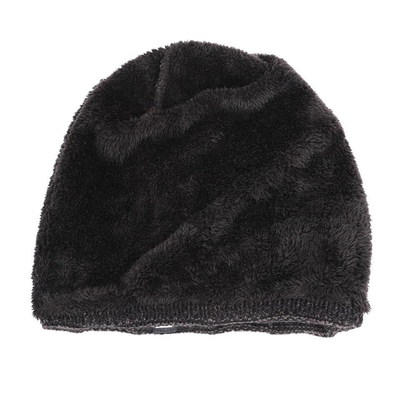 2019 Winter Beanies Men Scarf Knitted Hat Caps Mask Gorras Bonnet Warm Baggy Winter Hats For Men Women Skullies Beanies Hats 2